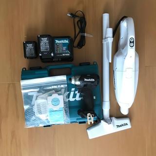 マキタ(Makita)のマキタ 掃除機 CL107 インパクト TD111 セット売り(掃除機)