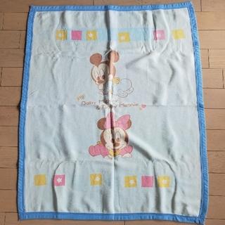 ディズニー(Disney)の子ども用毛布(ミッキー)(毛布)