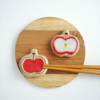 りんご 箸置きセット(テーブル用品)