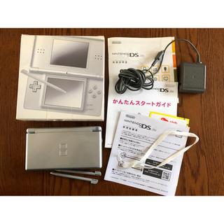ニンテンドーDS(ニンテンドーDS)のNintendo DS ニンテンド-DS LITE グロスシルバー(携帯用ゲーム機本体)