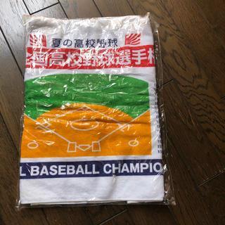 アサヒシンブンシュッパン(朝日新聞出版)の第87回 全国高校野球選手権 優勝高名前入りタオル(記念品/関連グッズ)