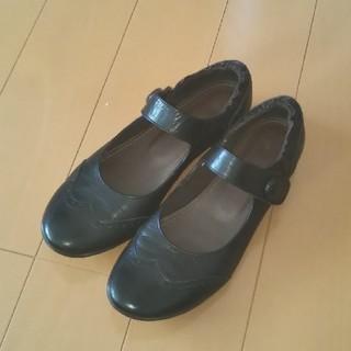 マリークラブ(Marie Club)の【新品・未使用】マリークラブ 歩きやすい革靴  24(ハイヒール/パンプス)