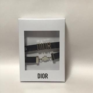 ディオール(Dior)の未使用 ディオール ブレスレット兼チョーカー クローバー Diorロゴ(ブレスレット/バングル)