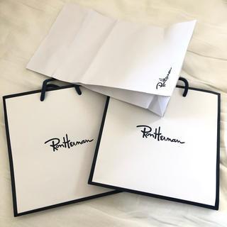 ロンハーマン(Ron Herman)のロンハーマン ronherman ショップ袋(ショップ袋)