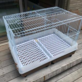 ウサギ用ゲージ(マルカン製)(かご/ケージ)