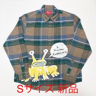 シュプリーム(Supreme)のsupreme Daniel Johnston Plaid Shirt S 新品(シャツ)