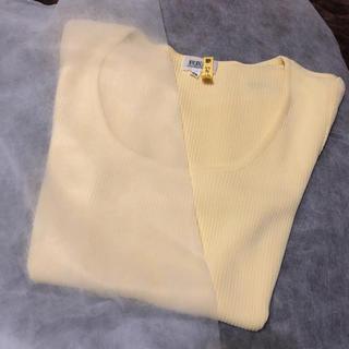 フォクシー(FOXEY)のfoxey カットソー 38 クリーニング済(Tシャツ(半袖/袖なし))