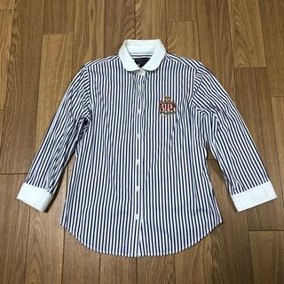 POLO RALPH LAUREN - ポロジーンズ 七分袖ストライプ柄シャツ