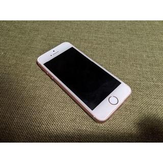 Apple - SIMロック解除済:iPhone SE(第一世代) 64GB ローズゴールド