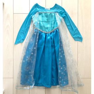 ディズニー(Disney)の100cm アナと雪の女王 エルサ衣装(衣装)