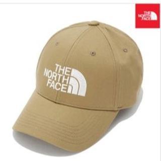 ザノースフェイス(THE NORTH FACE)の新品▲THE NORTH FACE ▲ ブラウン ▲ LOGO CAP(キャップ)