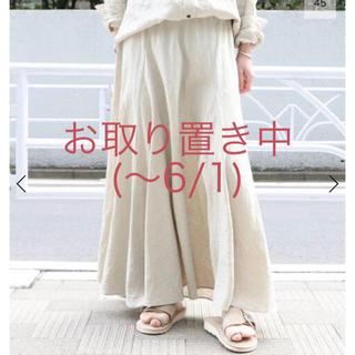 Plage - Plage Linen フレアスカート
