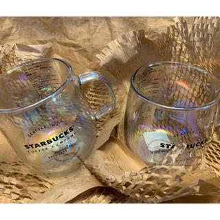 スターバックスコーヒー(Starbucks Coffee)の耐熱グラスマグラスター355ml 2個セット(グラス/カップ)