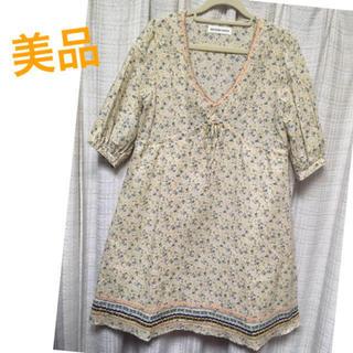 アパートメントマーケット(apartment market)の売りつくしSALE❗美品☆小花柄ワンピース(ひざ丈ワンピース)