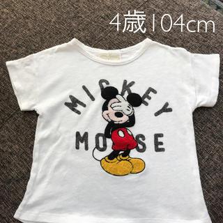 ZARA KIDS - ザラ  ミッキーTシャツ 104cm ディズニー キッズ