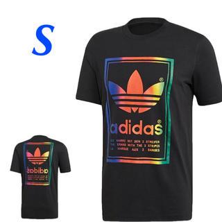 アディダス(adidas)の【メンズS】黒/マルチ VINTAGE Tシャツ アディダスオリジナルス(Tシャツ/カットソー(半袖/袖なし))