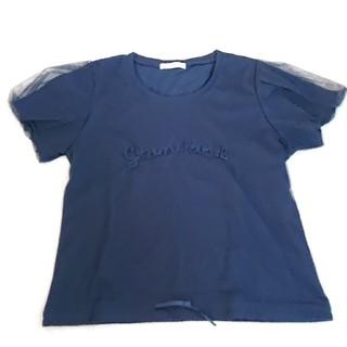 ウィルセレクション(WILLSELECTION)のウィルセレクション 異素材MIX パフスリーブ Tシャツ トップス(Tシャツ(半袖/袖なし))