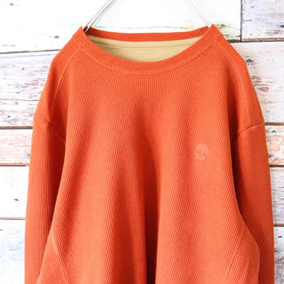 ティンバーランド(Timberland)のティンバーランド 90s サーマルロンT テラコッタオレンジ L(Tシャツ/カットソー(七分/長袖))
