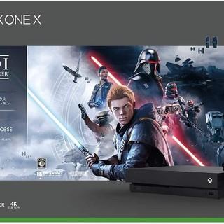 エックスボックス(Xbox)のXbox One X Star Wars ジェダイ フォールン オーダー 同梱版(家庭用ゲーム機本体)