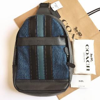 COACH - COACHバッグ コーチ ボディバッグ F23219 アウトレット新品 メンズ