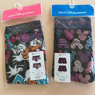 ディズニー(Disney)の《新品未使用》ディズニーボクサーパンツ男女ペアセット L(ショーツ)