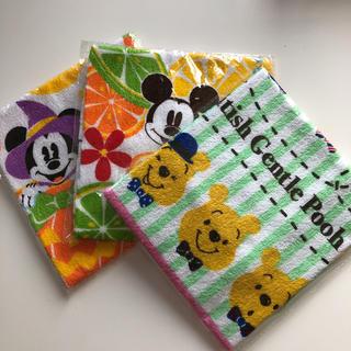 Disney - ディズニー タオル 3枚セット