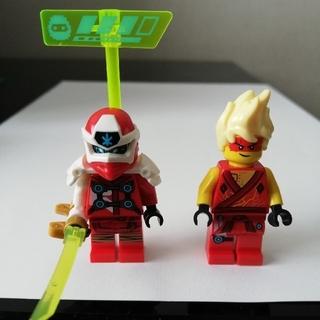 Lego - レゴ ニンジャゴー カイ ミニフィグ 2体セット 武器付き