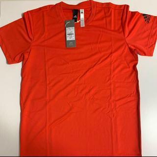 adidas - adidas トレーニングTシャツ Lサイズ オレンジ