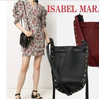 Isabel Marant - 【新品・正規品】イザベルマラン🔷Radja スタッズ バケットバッグ ミニ