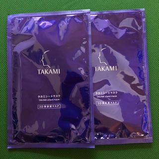 タカミ(TAKAMI)のタカミ シートマスク 3D 美容液 スキンピール(パック/フェイスマスク)