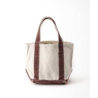 アパルトモンドゥーズィエムクラス(L'Appartement DEUXIEME CLASSE)の5/31まで【L.L.Bean 】Canvas tote bag S☆ブラウン(トートバッグ)