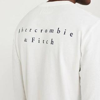 アバクロンビーアンドフィッチ(Abercrombie&Fitch)の【Abercrombie&Fitch】アバクロンビー&フィッチ長袖Tシャツ新品(Tシャツ/カットソー(七分/長袖))
