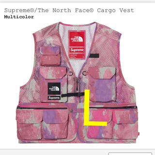 シュプリーム(Supreme)のsupreme the north face cargo vest L(ベスト)