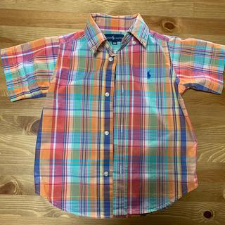 ラルフローレン(Ralph Lauren)のラルフローレン シャツ 100 半袖(ブラウス)