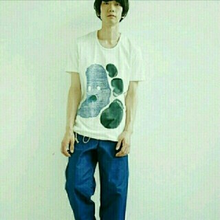 オータ(ohta)の【名作♪】ohta 「yeti blue」 バルーンビックTシャツ(Tシャツ/カットソー(半袖/袖なし))