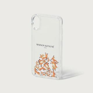メゾンキツネ(MAISON KITSUNE')のメゾンキツネ iPhoneケース AQUA YOGA FOX(その他)