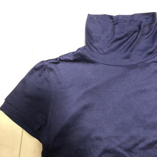 シャルレ(シャルレ)の紺色半袖トップス レディースのトップス(カットソー(半袖/袖なし))の商品写真