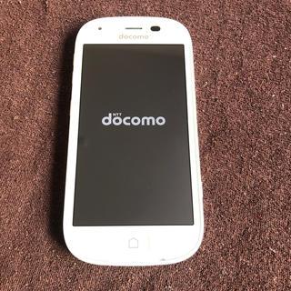 NTTdocomo - 【期間限定値下げ!】F-04J W らくらくスマートフォン4 docomo