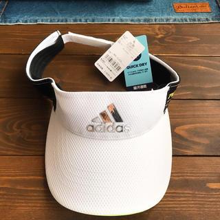 アディダス(adidas)の【未使用新品】adidasツアー360 ゴルフ サンバイザー(ウエア)