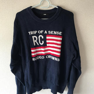 RODEO CROWNS - ロデオクラウンズ  セーター