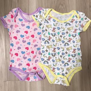 シマムラ(しまむら)のバースデイ 女の子 90  半袖シャツ2枚(下着)