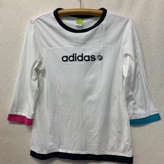 adidas - アディダス 七分袖Tシャツ M USED