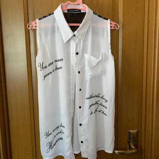 セシルマクビー(CECIL McBEE)のトップス(シャツ/ブラウス(半袖/袖なし))