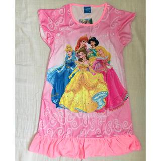 ディズニー(Disney)のプリンセス 半袖 ワンピース パジャマ 130 140サイズ(パジャマ)