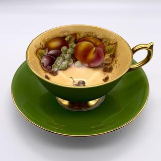 エインズレイ(Aynsley China)の限定生産 エインズレイ アンティーク カップ&ソーサー(食器)