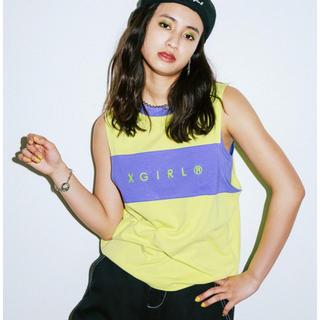 X-girl - xgirl BI-COLOR TANKTOP SET