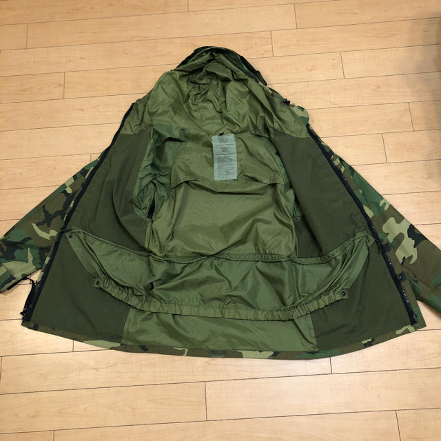 HYKE(ハイク)の貴重 90s ビンテージ USA製 米軍 ecwcs ゴアテックス パーカー メンズのジャケット/アウター(ミリタリージャケット)の商品写真