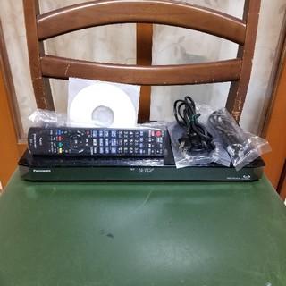 パナソニック(Panasonic)の新品同様完動美品!W録1TB外付HDDスマホ!パナソニックDMR-BRW1000(ブルーレイレコーダー)