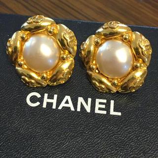 シャネル(CHANEL)のシャネル正規美品レア!ココマークいっぱいイヤリング(イヤリング)