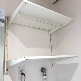 イケア(IKEA)の【引取限定】洗濯機用ラックに❣️IKEA アルゴート ALGOT ラック(棚/ラック/タンス)